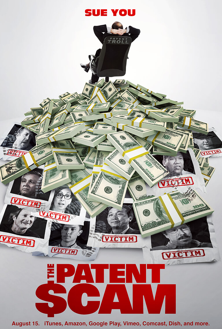 The Patent Scam movie poster